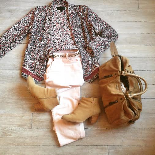 spring outfit camel sunny zadig et voltaire mango